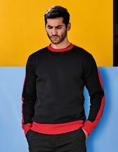 Men´s Contrast Crew Sweat