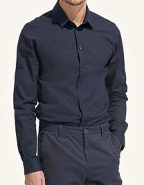 Men`s Long Sleeve Stretch Shirt Blake